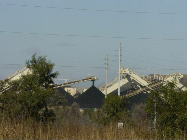 Anglo American's Dawson Coal Mine, outskirts of Moura, Central Queensland. Photo Kerri-Anne Mesner / The Observer
