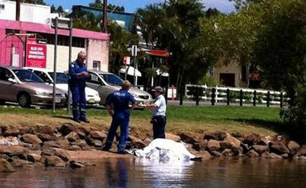 Police are investigating after a man's body was found in the Tweed River at Tumbulgum. Photo: Matt Price