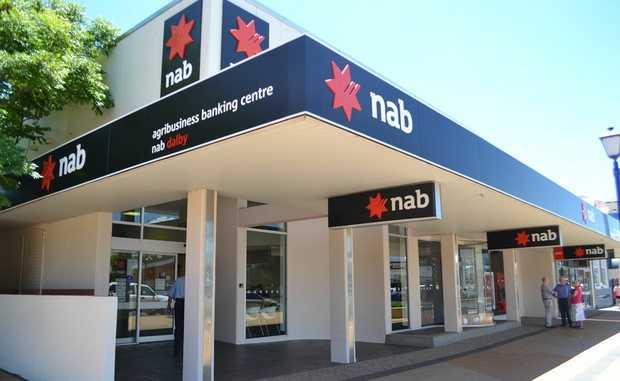 Both Suncorp and NAB Banks in Dalby issued complaints with the police over stolen property.  Photo Lisa Machin / Dalby Herald