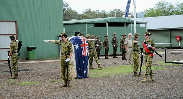 MOVING CEREMONY: A memorial service was held for Terry Kronk at Emu Gully near Helidon on the weekend.