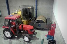 Heavy machinery and equipment used to conceal drugs