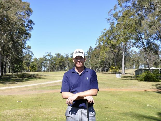 Andrew Dodt during a home stopover in Gatton earlier this year.