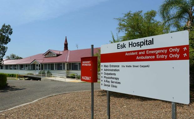 The Esk Hospital antenatal clinic will shut down at the end of November 2012.