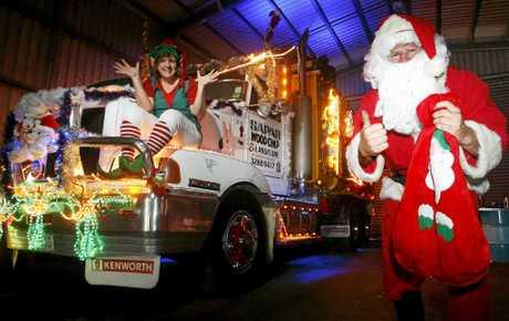 JINGLE ALL THE WAY: Check out Santa's itinerary.
