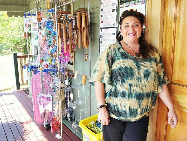 GOOD WILL: Ruth O'Dowd from The Gift Tree is raising funds for the Islander organisation Blackbird.