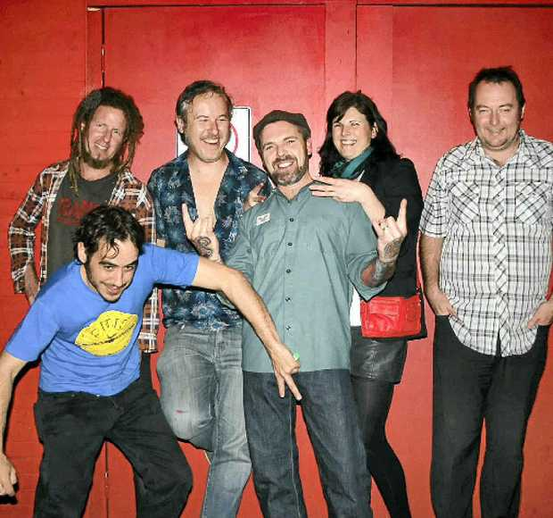 GOOD TIMES: The Dunhill Blues meet the Antibodies in Nimbin for a rock explosion.