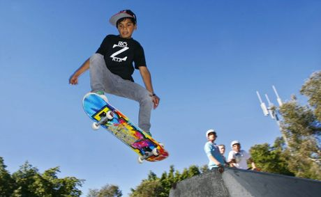 Young boys over the age of nine are more likely to be injured roller-skating and skateboarding.