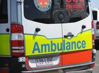 FOUR people have been taken to hospital following a crash at West Ipswich.