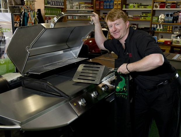 Joe Mathews from Barbeques Galore is ready to get cooking.