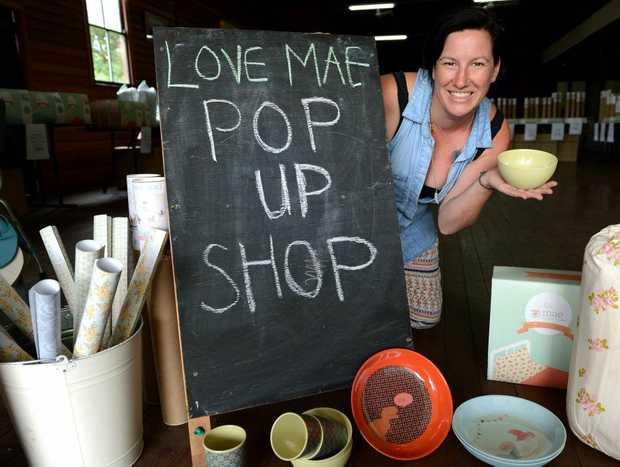 Peta O'Neill at Love Mae pop up Market in Stokers Siding. Photo: John Gass / Daily News
