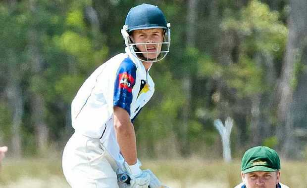 Diggers' rising star batsman Damon Rootes will miss today's clash with Colts due to Bradman Cup duties. Photo: Rob Wright.