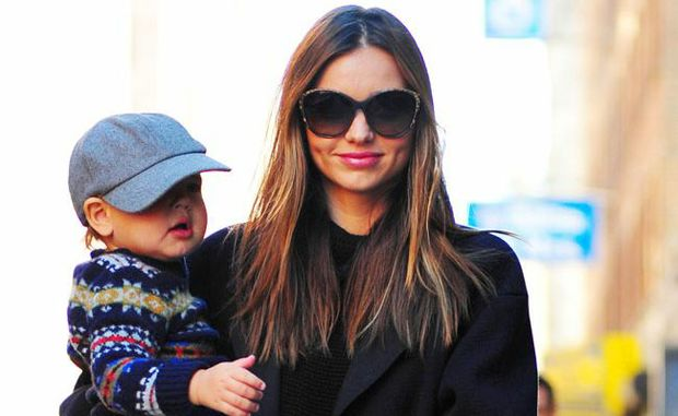Miranda Kerr and son Flynn Bloom.