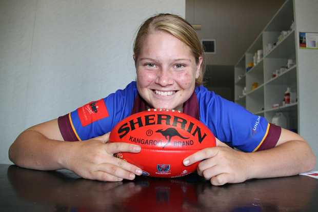 NEW GOAL: Danielle Wall is ready to lace up the boots for Queensland.