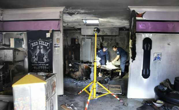 The Oakey tattoo shop Ink Sane Custom Tattoos was destroyed in a fire on Friday night.