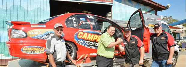 Bevan Thoroughgood, Wayne Pattern, Craig Campbell and Kim Kempster are busy racing V8s at Sandown this weekend.