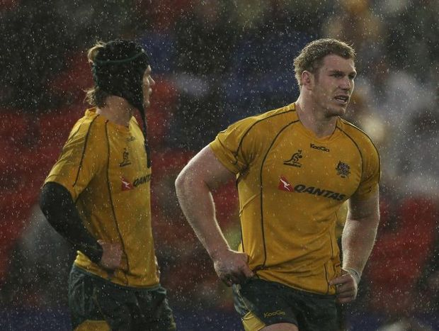 Wallabies captain David Pocock has not played since suffering knee ligament damage against the All Blacks in August.