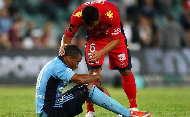 Yairo Yau scored a cracking goal for Sydney FC, but it was not enough as Adelaide beat the Sky Blues 2-1.