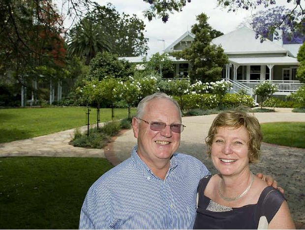 Apsley owners Peter Longden and Robyn Nagel are delighted to have their home featured on the calendar.