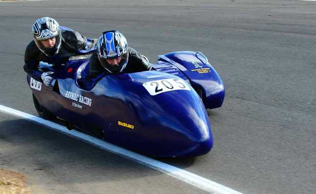 Wayne McConaghy will steer at the Warwick Challenge Cup today and tomorrow.