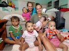 With six kids under two, it's all go for this busy young mum