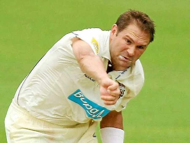 PSYCHED UP: Ryan Harris is battling to come back from injury and regain his spot in the Australian Test team.