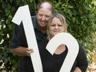 Special day gives couple 12 reasons to celebrate