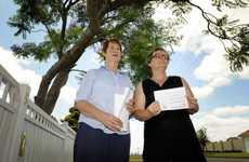 St Andrew's Hospital chemotherapy unit patients Christine Fraser (left) and Marie Lourigan have organised a rally in support of the hospital.