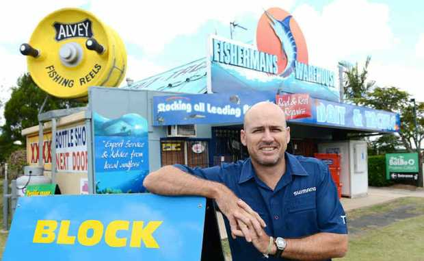 Tony Mill's Fisherman's Warehouse Gympie is set to go head-to-head with BCF.