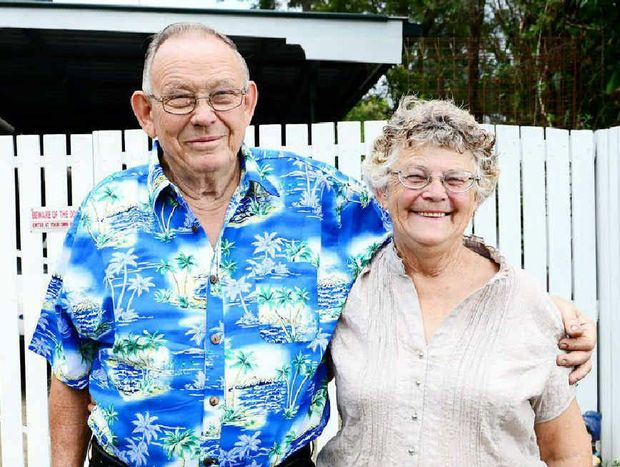 MILESTONE: Kev and Rosemary Muller of Bundamba celebrate their 50th wedding anniversary.
