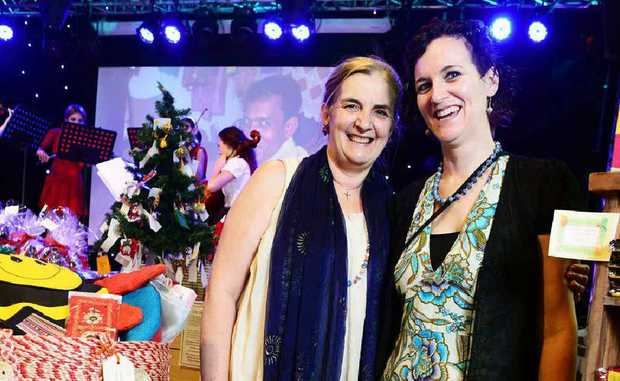 ETHICAL GIFTS: Organisers of the inaugural Ipswich Fair Trade Expose Pam McGann (left) and Bec Draper at Studio 188.