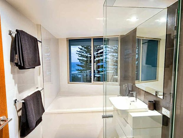 Consideration was given to the Coast's weather with only the best quality fixtures used in the bathrooms.