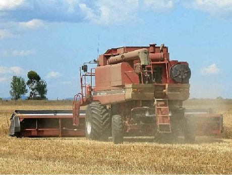 HARVEST: Clifton growers are keeping their fingers crossed for fine weather as the winter crop comes off paddocks acros