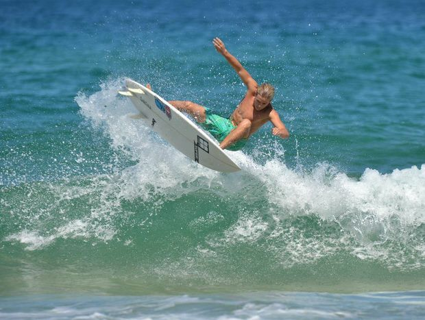 Jack Duggan is in good shape for the Junior Australian Surfing Titles.