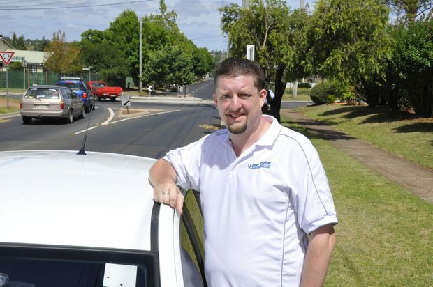 U CAN Drive instructor Rick Armitage says Toowoomba drivers need to brush up on their road rules when it comes to roundabouts.