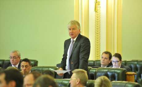 Condamine MP Ray Hopper in parliament.  Photo: Greg Miller / Sunshine Coast Daily.