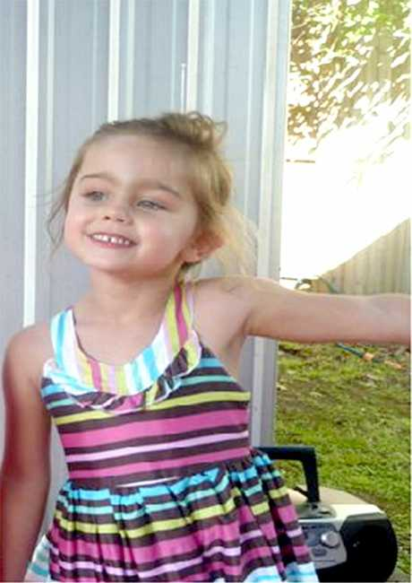 Four-year-old Annaleise Harris-Edwards is missing and could be in the Toowoomba area.