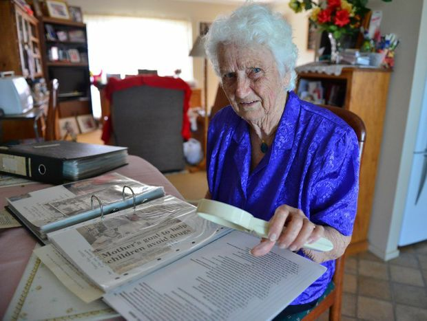 LOOKING BACK: Alison Rogers has been busy researching her family history.