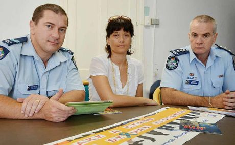 Young people who experience sexual assaults at work are not alone, say Gympie crime prevention officer Llew O'Brien (left), cou
