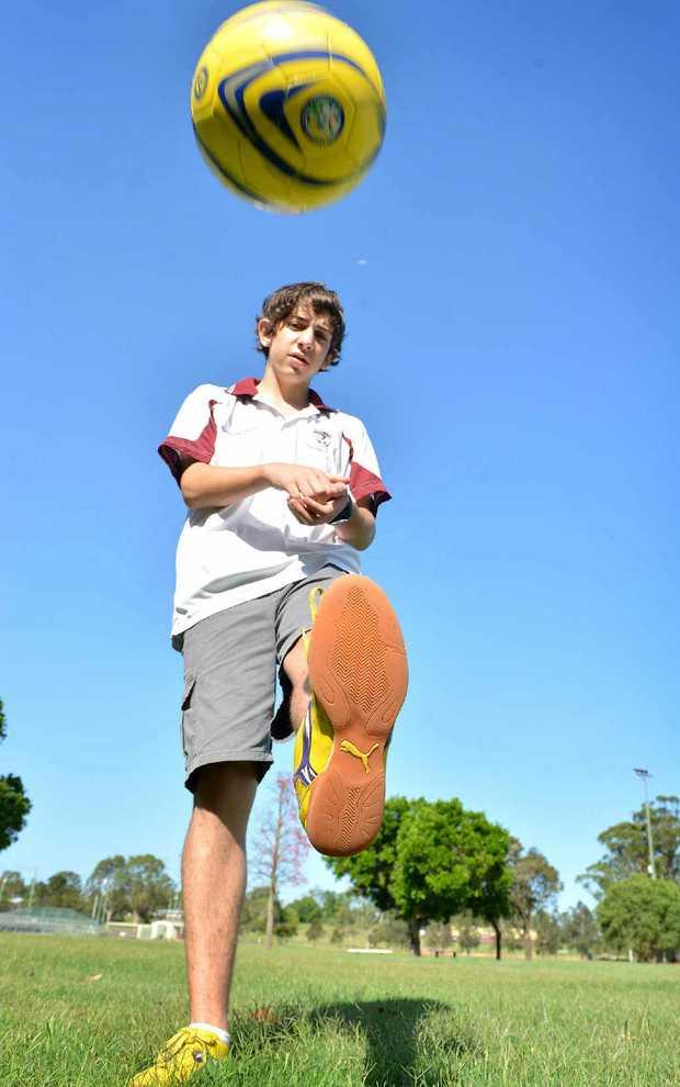 Futsal player Anthony Bierton will represent Australia in the UK.