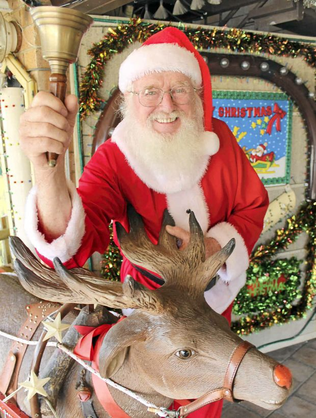 RINGING IN CHRISTMAS: Pat Kennedy will be lighting up his West Ballina home from December 1.