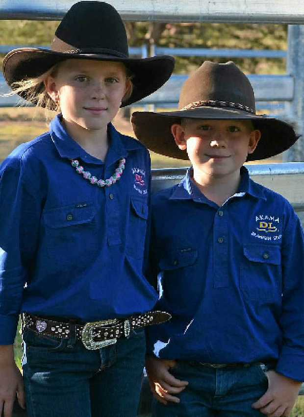 STUD Breeders of the future, Grace and Lane Sturdy from Arkama Brahmans.