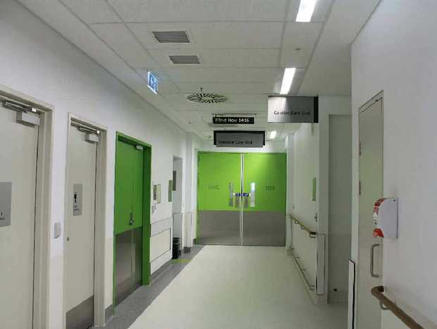 Mackay Base Hospital ICU/CCU patients were moved with the greatest of care into the new unit yesterday.
