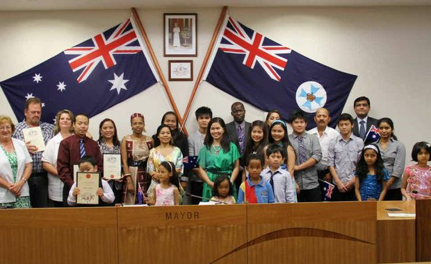 The Central Highlands welcomed 24 new citizens on October 29, taking the number for the year to well over 100.
