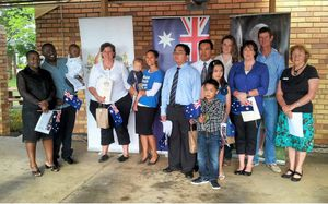 Eleven Australian citizens were welcomed at a recent ceremony held at the CHRC office in Blackwater.