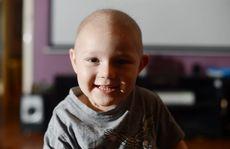 Benjamin Jessen, 2 1/2, is loving life regardless of the illness that has taken over.