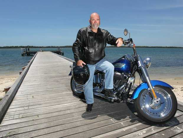 David Stannett from Classic Motorcycle Tours is looking forward to being part of the tourism expo at the Big Pineapple on Saturday.