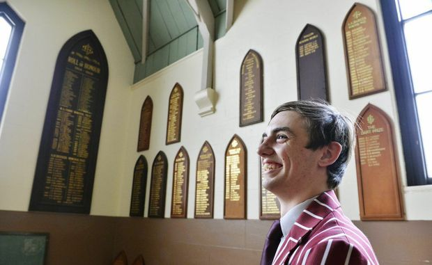 Ipswich Boys Grammar student Jarred Hancock has been named the school captain for 2013. The school will celebrate 150 years next year.