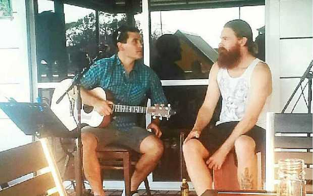 Ryan Martin and Ben Flavell play two Grafton shows this weekend but Ben may be minus a luscious red beard by Saturday.