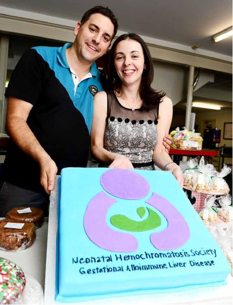 INFANT TRAGEDY: A Neonatal Hemochromatosis Society fundraising golf day was held at Sandy Gallop Golf Club.