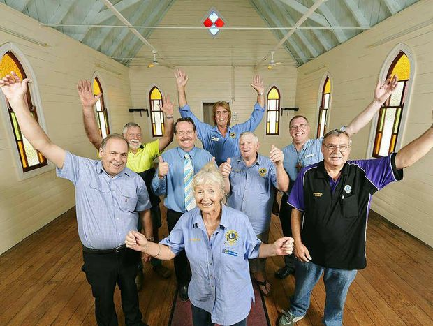 A GREAT SPACE: The Fernvale Lions have been donated the Fernvale Uniting Church and hall.